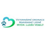 MVDr. Luděk Veselý - veterinární ordinace – logo společnosti