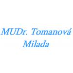 Tomanová Milada, MUDr. – logo společnosti