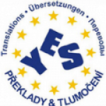 YES - překlady a tlumočení, s.r.o. (pobočka Karlovy Vary) – logo společnosti
