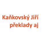Kaňkovský Jiří - překlady aj – logo společnosti