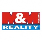 M & M reality holding a. s. (pobočka Karlovy Vary) – logo společnosti