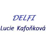 Kafoňková Lucie- DELFI – logo společnosti
