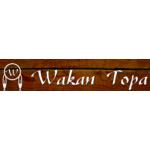 Wakantopa - w kruhu – logo společnosti