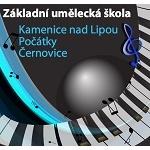 Základní umělecká škola Kamenice nad Lipou – logo společnosti