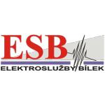 ESB elektroslužby Bílek Mohelnice – logo společnosti