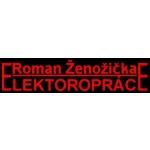 Ženožička Roman - elektropráce – logo společnosti