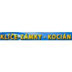 Kocián Milan - klíče – logo společnosti