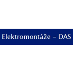Elektromontáže - DAS – logo společnosti