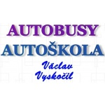 Vyskočil Václav - autobusová doprava – logo společnosti