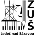 Základní umělecká škola Ledeč nad Sázavou příspěvková organizace – logo společnosti