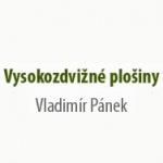Pánek Vladimír - vysokozdvižné plošiny – logo společnosti