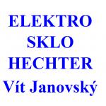 ELEKTRO - SKLO HECHTER - Vít Janovský - domácí potřeby – logo společnosti