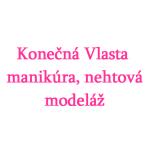 Konečná Vlasta - manikúra, nehtová modeláž – logo společnosti