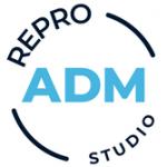 A.D.M. Reprografické studio – logo společnosti