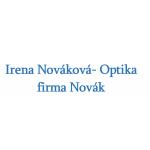 Irena Nováková- Optika firma Novák – logo společnosti