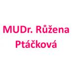 MUDr. Růžena Ptáčková – logo společnosti