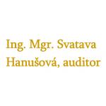 Ing. Mgr. Svatava Hanušová, auditor – logo společnosti