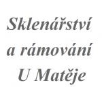 Sklenářství a rámování U Matěje – logo společnosti