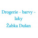Drogerie - barvy - laky Žabka Dušan – logo společnosti