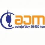 AJM - Radek Malina - autojeřáby – logo společnosti