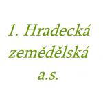 1. Hradecká zemědělská a.s. – logo společnosti