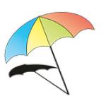 Krizové a kontaktní centrum Pod slunečníkem o.p.s. – logo společnosti