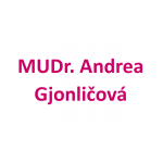 MUDr. Andrea Gjonličová – logo společnosti