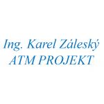 Ing. Karel Záleský - ATM PROJEKT – logo společnosti