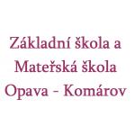 Základní škola a Mateřská škola Opava - Komárov - příspěvková organizace – logo společnosti