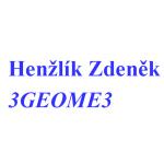 Henžlík Zdeněk - 3GEOME3 – logo společnosti