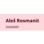 Rosmanit - voda, topení, plyn – logo společnosti