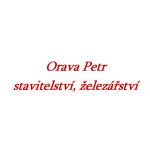 Orava Petr - stavitelství, železářství – logo společnosti