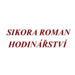 Sikora Roman - hodinářství – logo společnosti