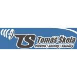 Škola Tomáš - antény, satelity, TS – logo společnosti