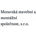 Moravská stavební a montážní společnost, s.r.o. – logo společnosti
