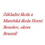 Základní škola a Mateřská škola Horní Benešov, okres Bruntál, příspěvková organizace – logo společnosti