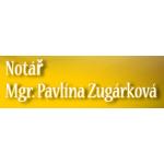 Mgr. Pavlína Zugárková-notářka – logo společnosti