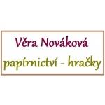 V. Nováková papírnictví - hračky – logo společnosti