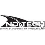 ND TECH s.r.o. - pronájem montážních plošin a zemních strojů – logo společnosti