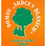 """Domov """"Srdce v dlaních"""" - sociální služby Jiříkov – logo společnosti"""