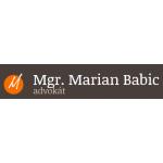 Mgr. Marian Babic, advokát – logo společnosti