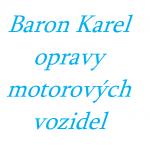 Baron Karel - opravy motorových vozidel – logo společnosti