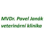 MVDr. Pavel Janák - veterinární klinika – logo společnosti