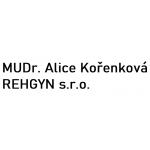 MUDr. Alice Kořenková - REHGYN s.r.o. – logo společnosti