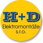 H+D Elektromontáže s.r.o. – logo společnosti