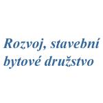 Rozvoj, stavební bytové družstvo – logo společnosti