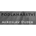 Dudek Miroslav- podlahářství – logo společnosti