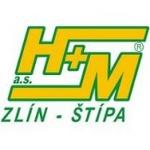 H + M Zlín a.s. (pobočka Třebíč-Horka-Domky) – logo společnosti
