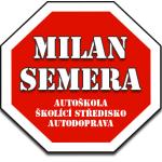Semera Milan- autoškola (pobočka Opava) – logo společnosti