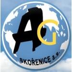AG Skořenice, akciová společnost – logo společnosti